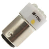 LED-YELLOW-T5 1/2 -DC-36-130V